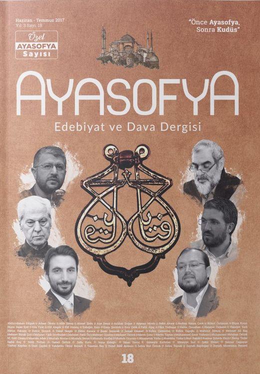Ayasofya dergisinden Ayasofya Özel Sayısı