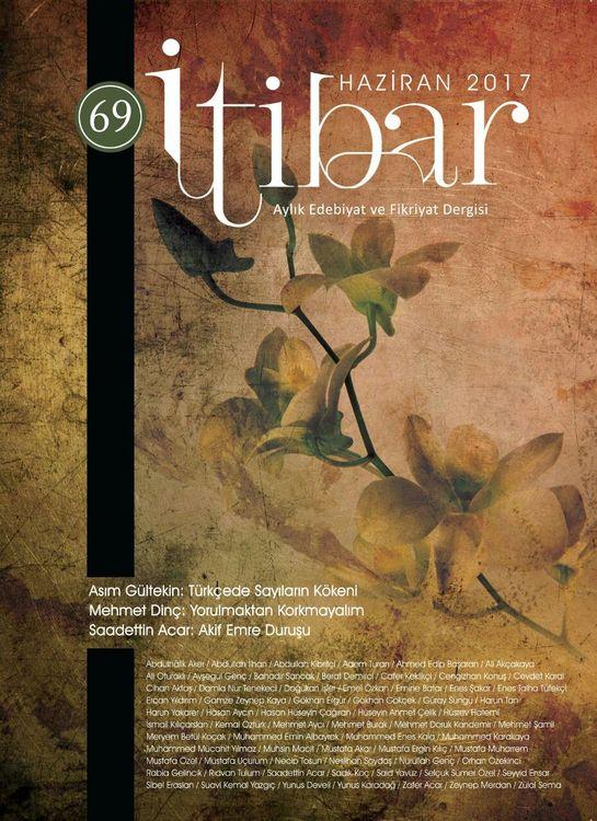 İtibar dergisinin 69. sayısı çıktı