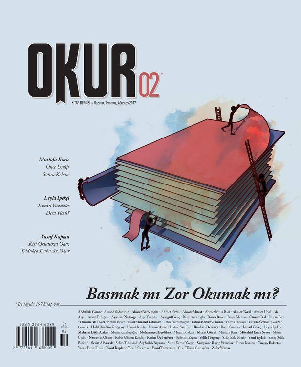 Okur dergisinin 2. sayısı çıktı