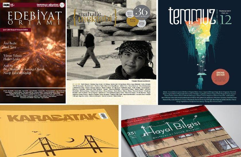 Dergilerin Temmuz 2017 Sayılarına Toplu Bir Bakış –2