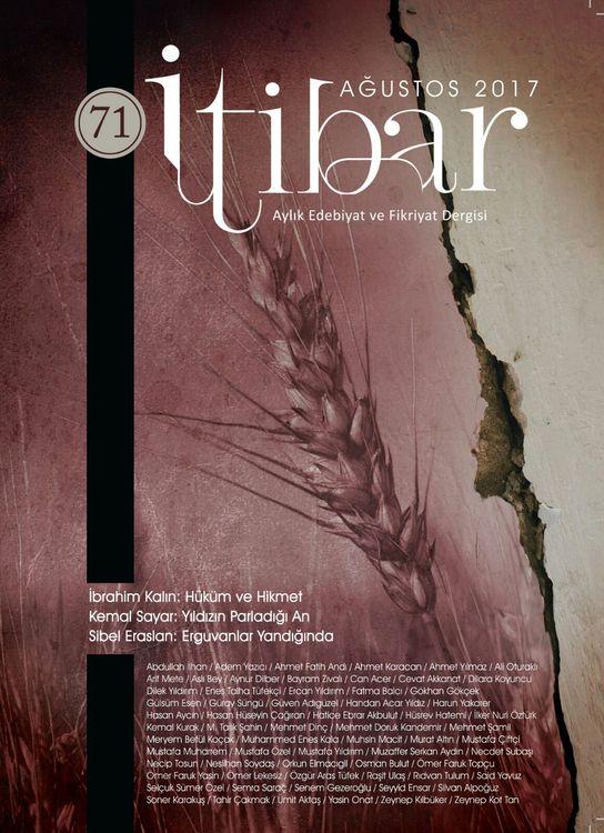 İtibar dergisinin 71. sayısı çıktı