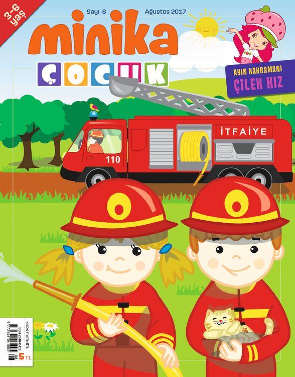 MinikaÇocuk dergisinin 8. sayısı çıktı