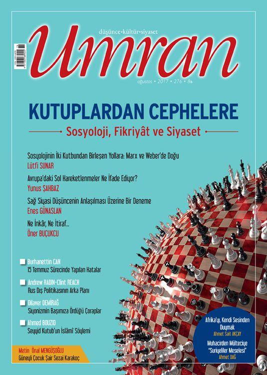 Umran dergisinin 276. sayısı çıktı