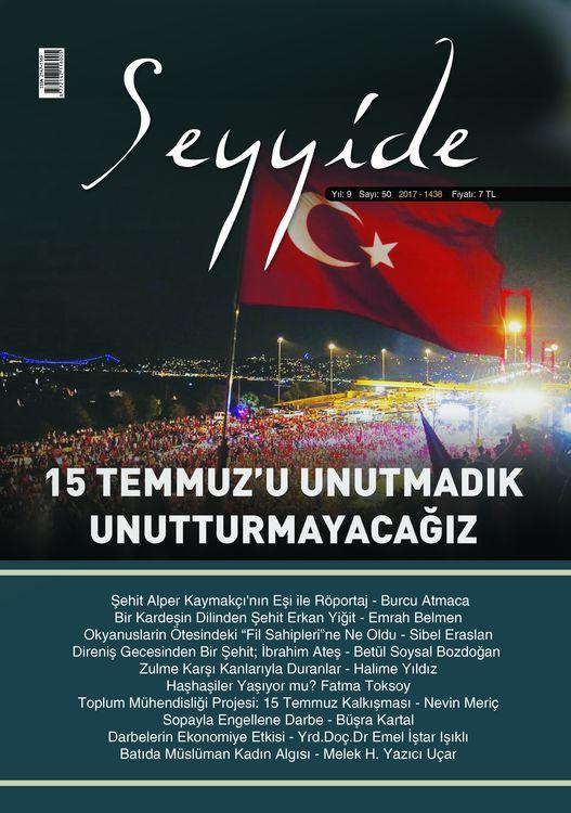 Seyyide dergisinin 50. sayısı çıktı
