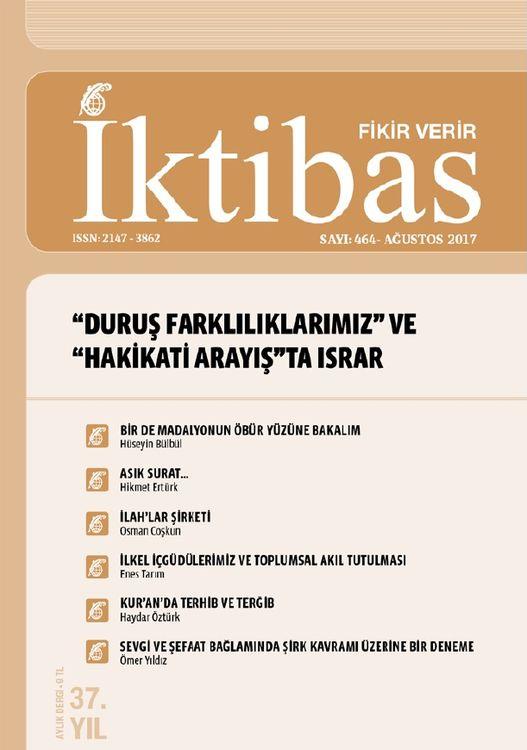 İktibas dergisinin 464. sayısı çıktı