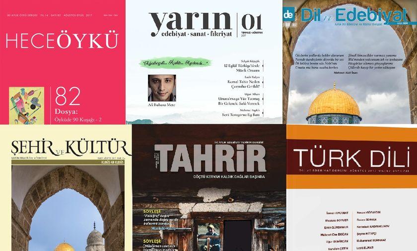 Dergilerin Ağustos 2017 Sayılarına Toplu Bir Bakış - 2