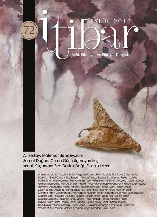 İtibar dergisinin 72. sayısı çıktı