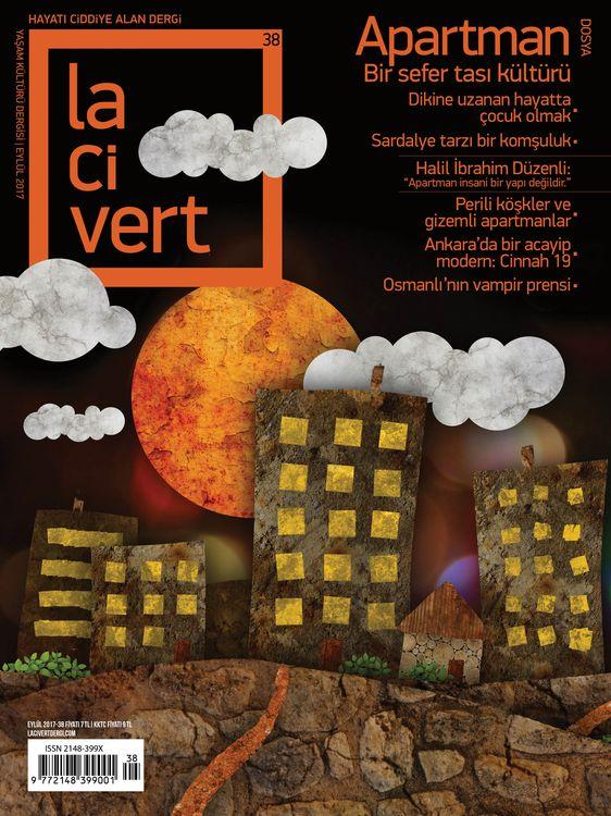 Lacivert dergisinden 'Apartman' dosyası