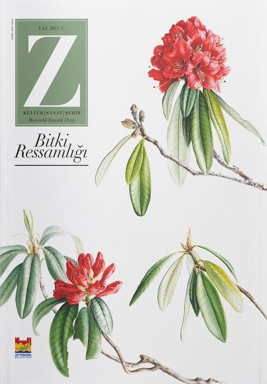 Z dergisinin ilk sayısında tema: Bitki ressamlığı