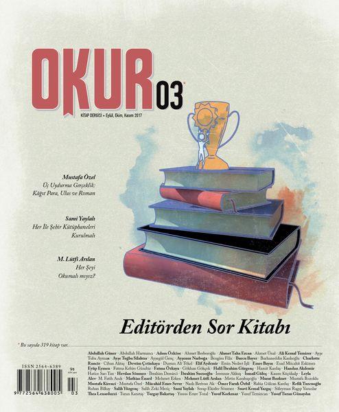 Okur dergisinin 3. sayısı çıktı