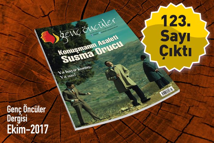 Genç Öncüler dergisinin 123. sayısı çıktı