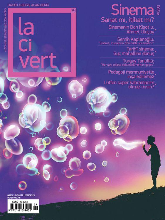 Lacivert dergisinin 39. sayısı çıktı