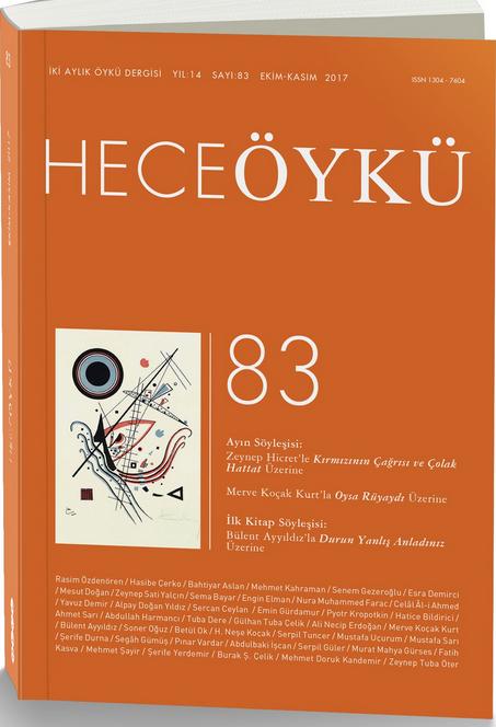 Hece Öykü dergisinin 83. sayısı çıktı