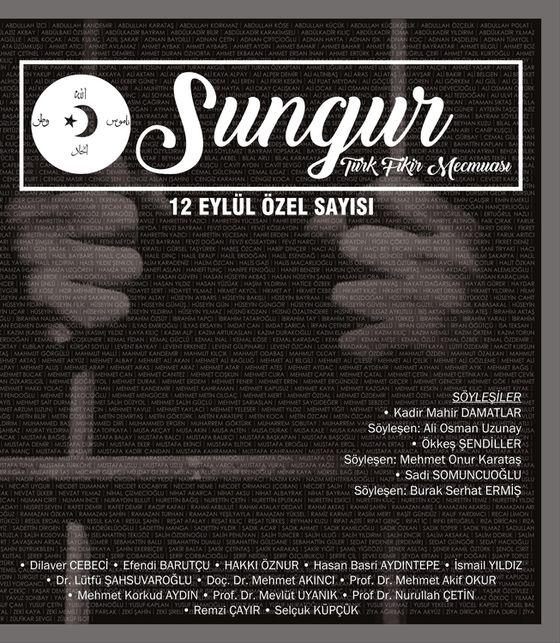 Sungur dergisinden 12 Eylül özel sayısı