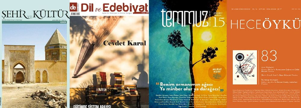 Ekim 2017 Dergilerine Genel Bir Bakış