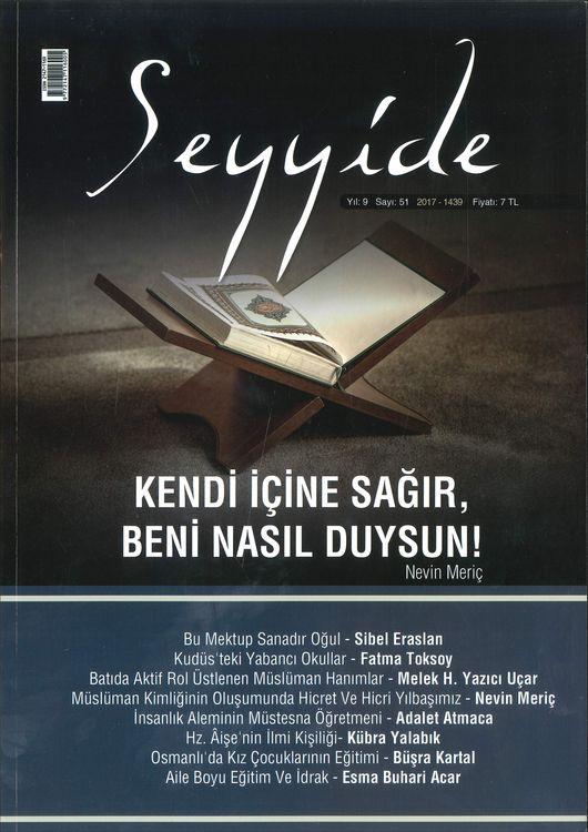 Seyyide dergisinden 'ilim' dosyası