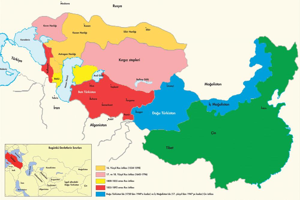 Ölüm, Hicret, Kimsesizlik: Türkistan!