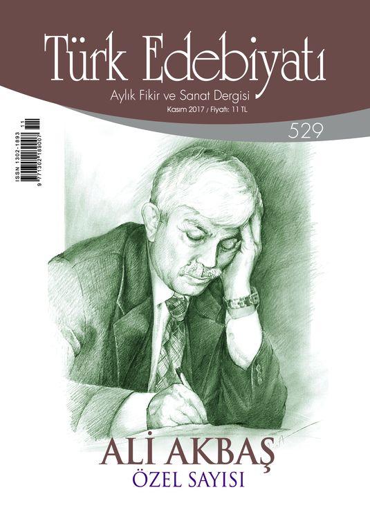 Türk Edebiyatı dergisinden Ali Akbaş özel sayısı
