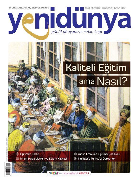 Yenidünya dergisinden 'eğitim' dosyası