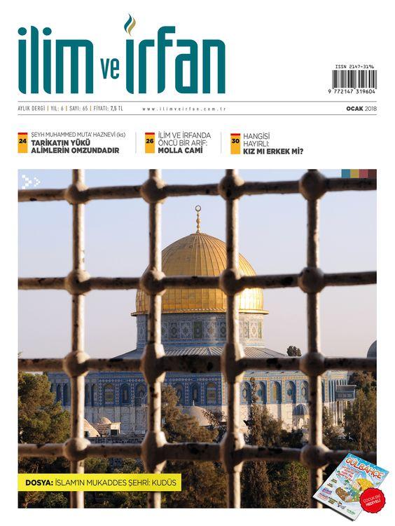 İlim ve İrfan dergisinden Kudüs dosyası