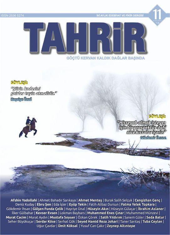 Tahrir dergisinin 11. sayısı çıktı
