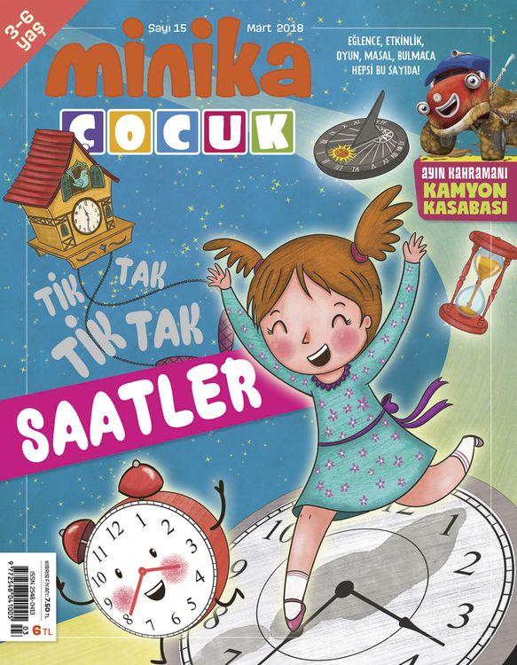 minikaÇocuk dergisinin 'Saatler' sayısı çıktı