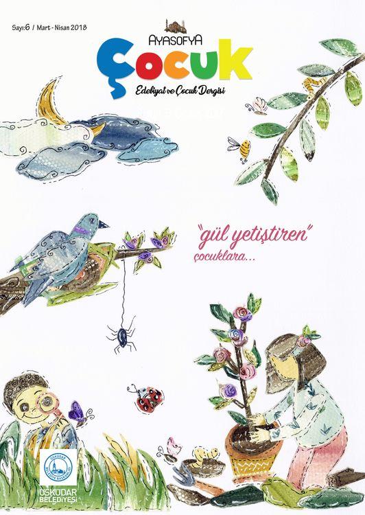 Ayasofya Çocuk dergisinin 6. sayısı çıktı