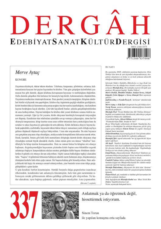Dergâh dergisinin 337. sayısı çıktı