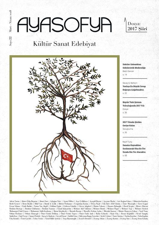 Ayasofya dergisinden 2017'de Şiir dosyası