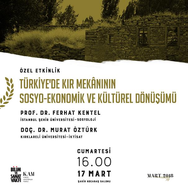 Kır Mekânının Sosyo-Ekonomik ve Kültürel Dönüşümü