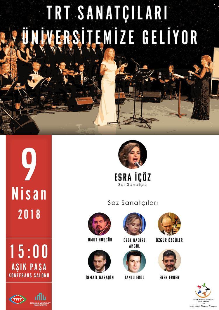 TRT sanatçılarından konser