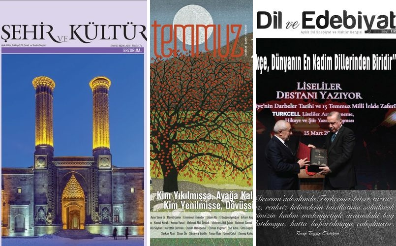 Nisan 2018 Dergilerine Genel Bir Bakış