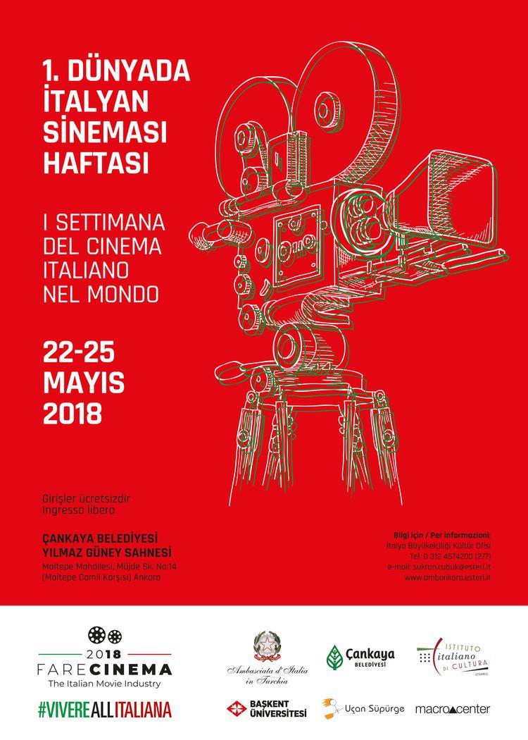 Dünyada İtalyan Sineması Haftası başlıyor.