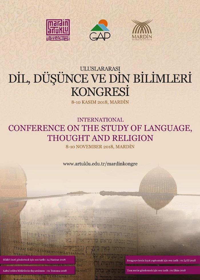 Uluslararası Dil, Düşünce ve Din Bilimleri Kongresi