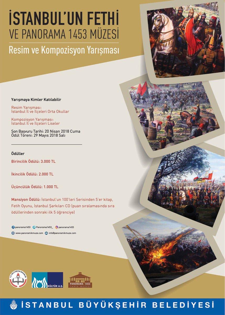 İstanbul'un Fethi ve Panorama 1453 Ödül Töreni