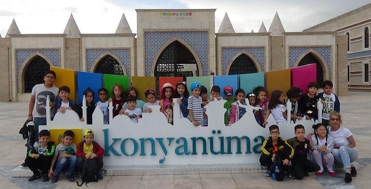 Konya'da 14. Cahit Zarifoğlu Çocuk Şenliği Gerçekleşti