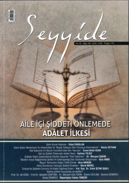 Seyyide Dergisinden 'Kadın ve Şiddet Sorunu' Dosyası