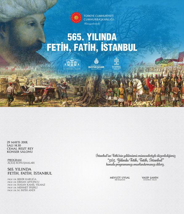 565. Yılında Fetih, Fatih, İstanbul