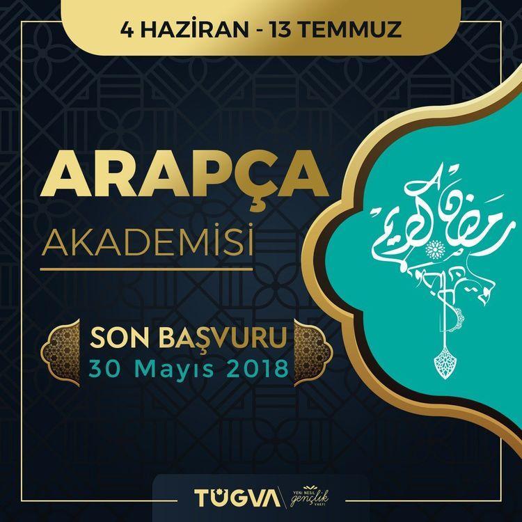 TÜGVA Arapça Akademisi başlıyor!