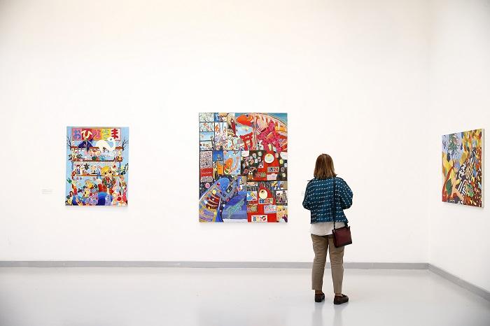 Ankara'da Japon Çağdaş Sanat Sergisi Açıldı