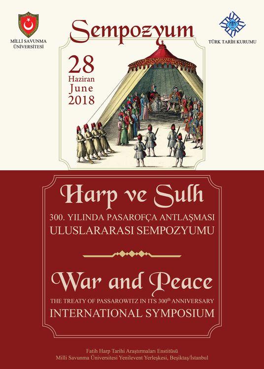 300. Yılında Pasarofça Antlaşması Uluslararası Sempozyumu