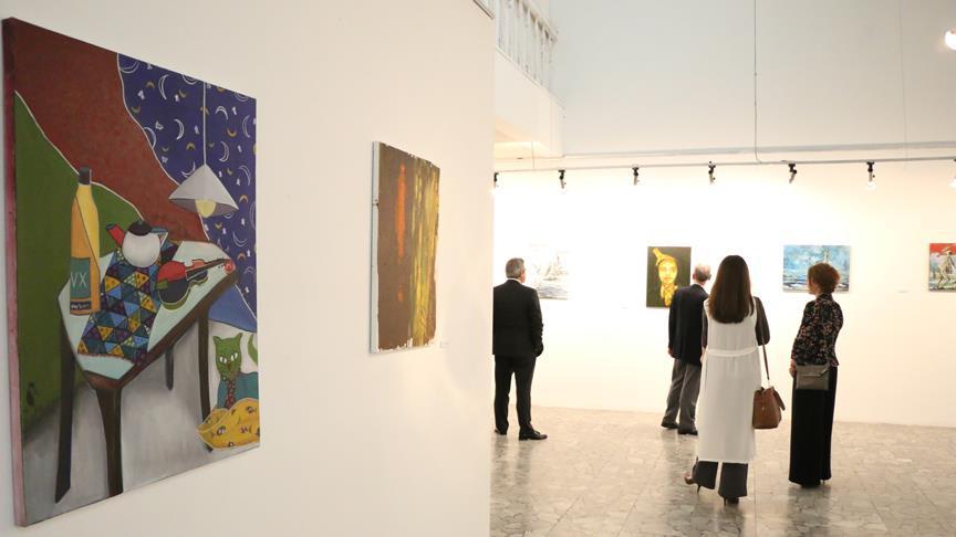 Türk Sanatçılardan Arnavutluk'ta Sergi