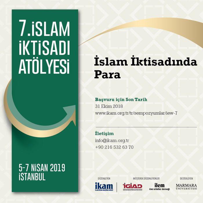 7. İslam İktisadı Atölyesi: İslam İktisadında Para