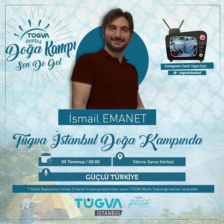 TÜGVA İstanbul Doğa Kampı'nda Faaliyetler Devam Ediyor