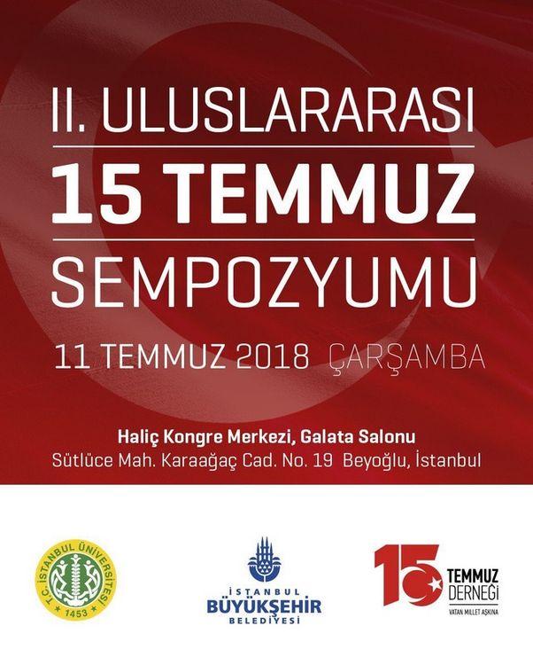 2. Uluslararası 15 Temmuz Sempozyumu