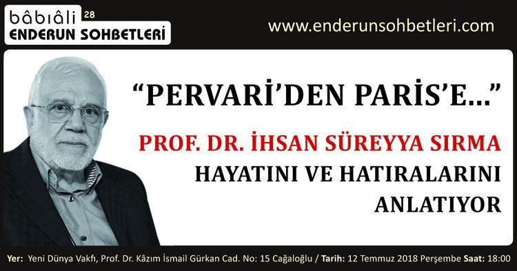 İhsan Süreyya Sırma Hayatını ve Hatıralarını Anlatacak