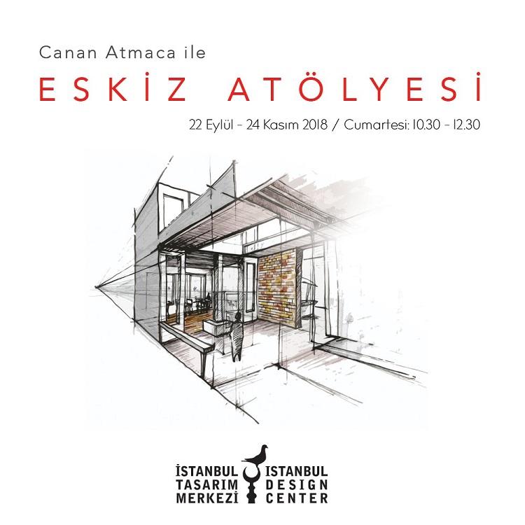 İstanbul Tasarım Merkezi'nden 'Canan Atmaca ile Eskiz Atölyesi'