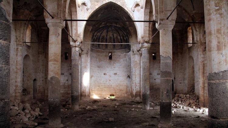 Germuş Kilisesi Bakıma Alındı