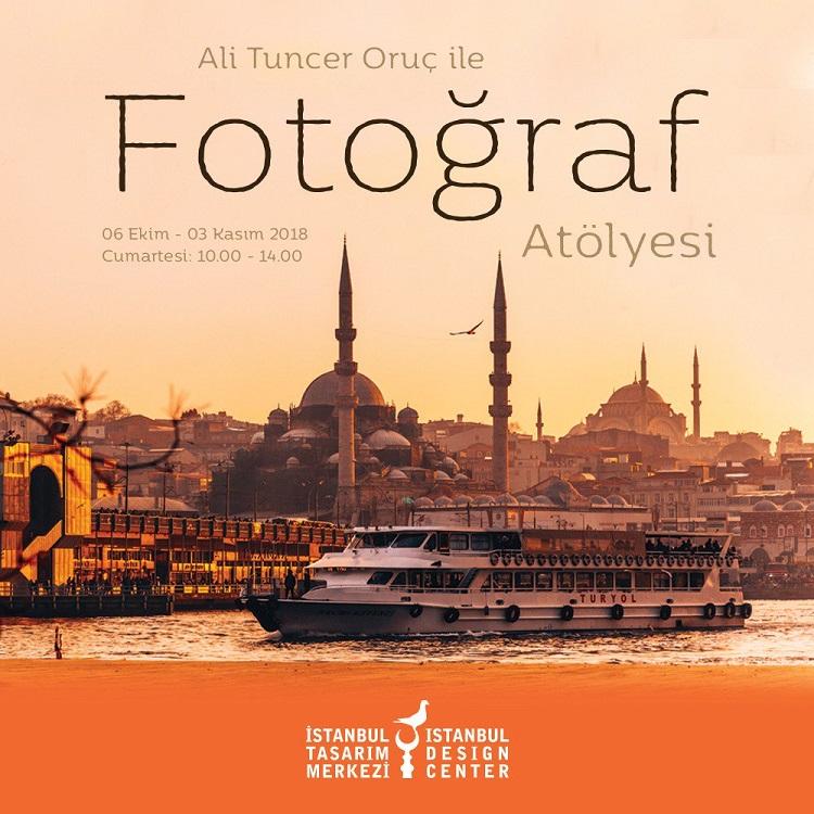 Ali Tuncer Oruç ile Fotoğraf Atölyesi