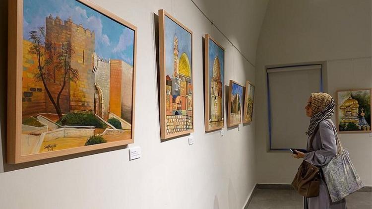 'Kudüs Renkleri' Sergisi Açıldı